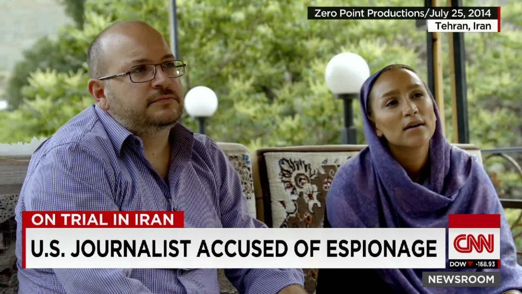 U.S. journalist's spying trial begins in Iran