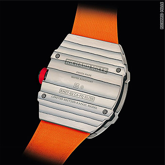 Rafael Nadal Sports 850 000 Watch At French Open