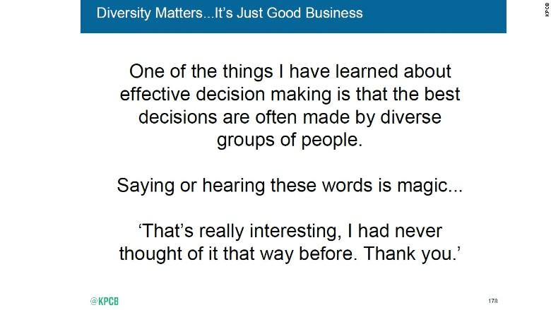 meeker diversity quote
