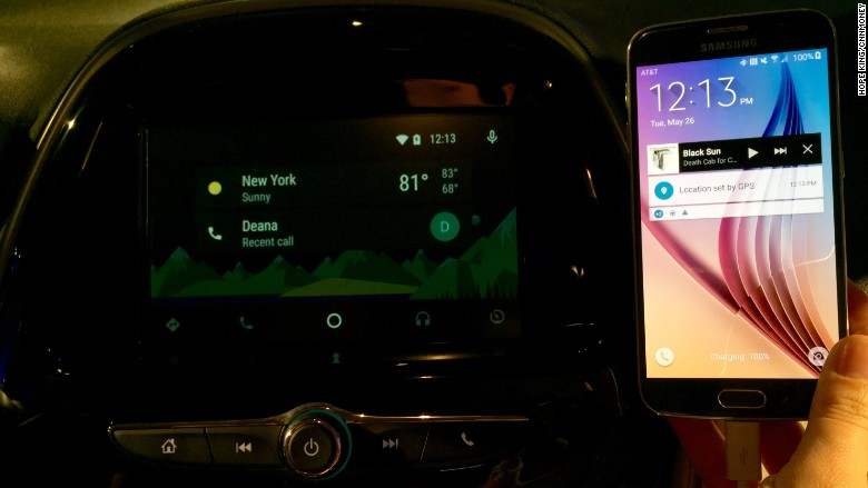 chevy cruze android auto
