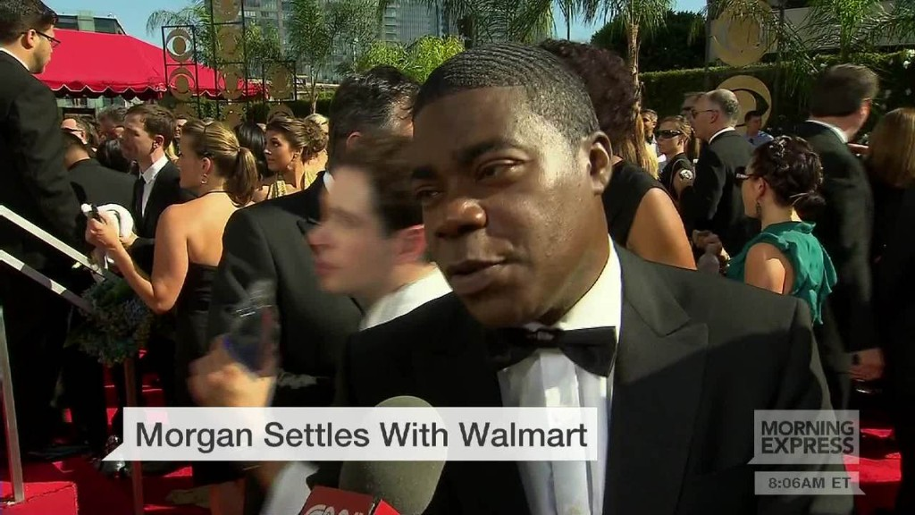 Tracy Morgan settles with Walmart
