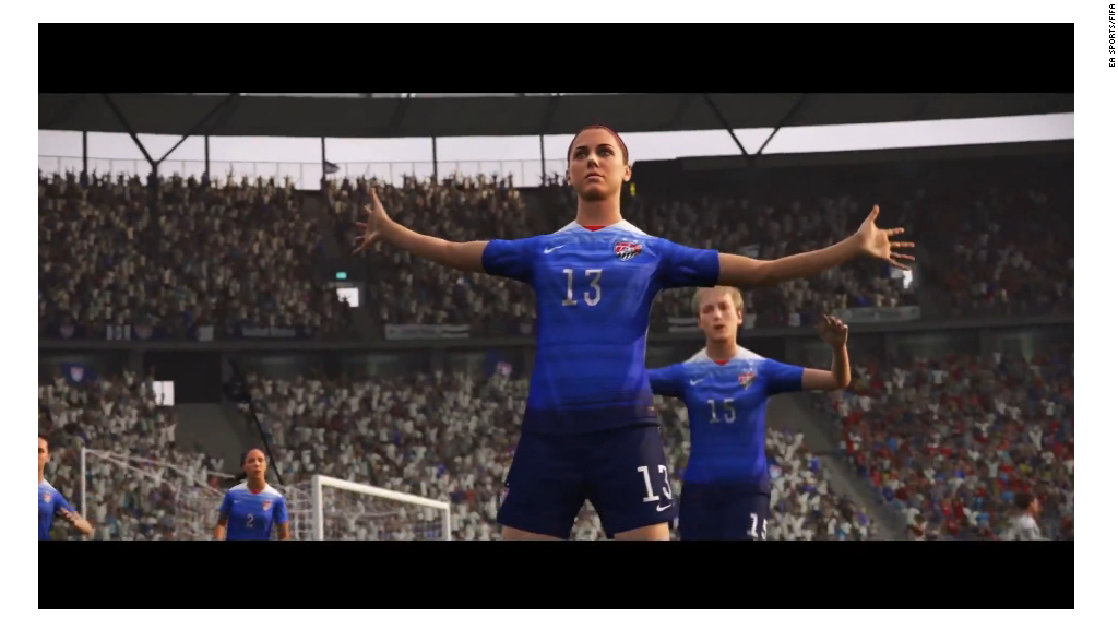 FIFA 16 adds women to the roster