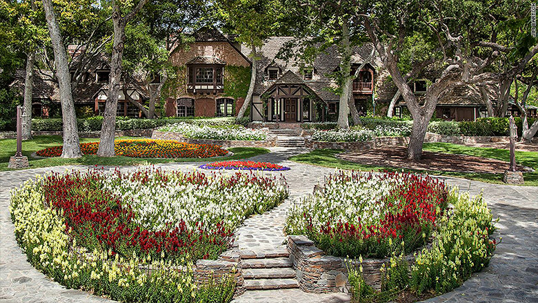 Michael Jackson's Neverland ranch on the market
