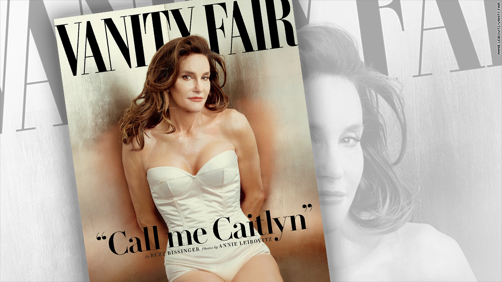 Caitlyn Jenner debuts on Vanity Fair cover