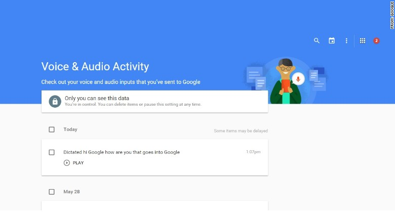 google voice and audio