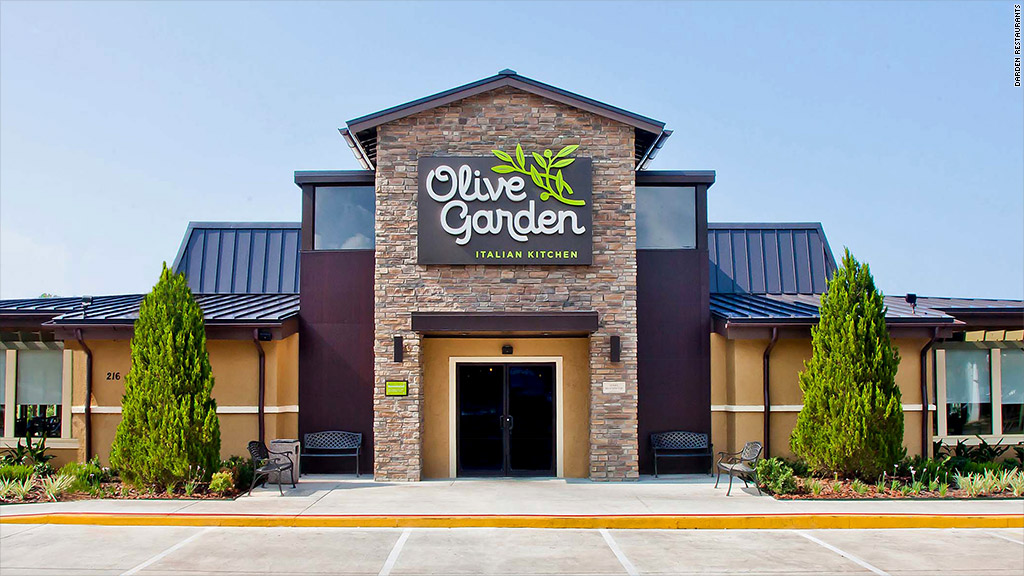 5 stunning stats about Olive Garden