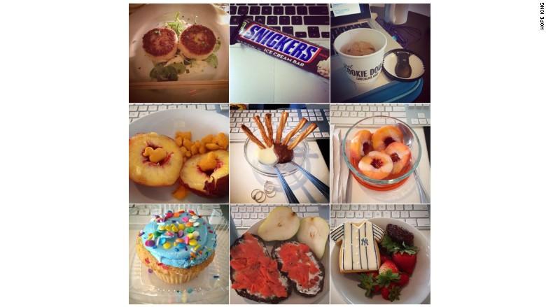 google instagram calorie count