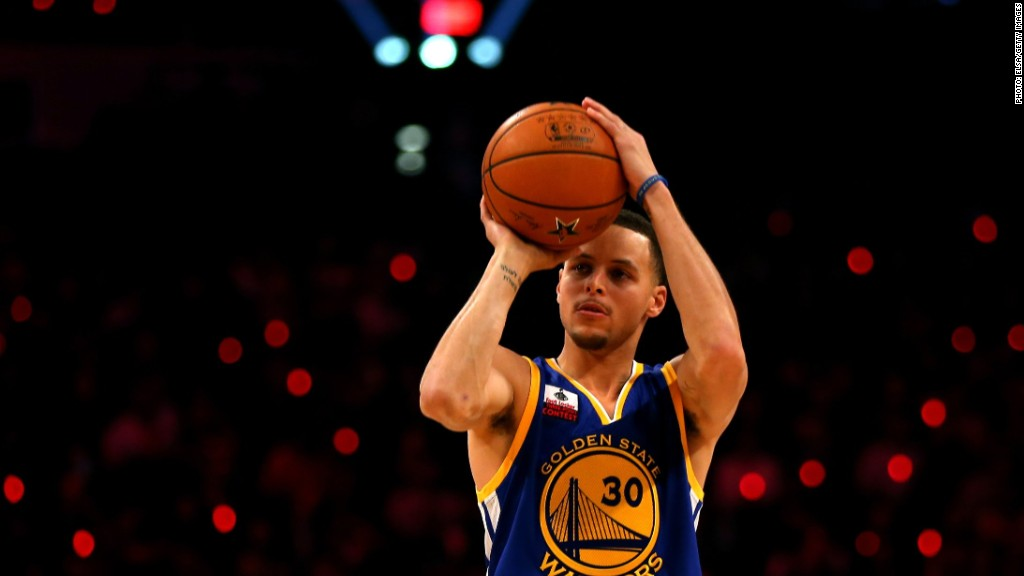 Stephen Curry may become 'Golden' boy of Madison Ave.