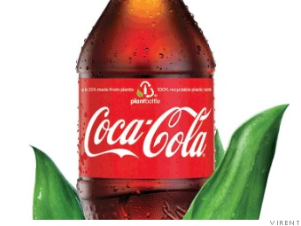 New Coke bottle made entirely from plants