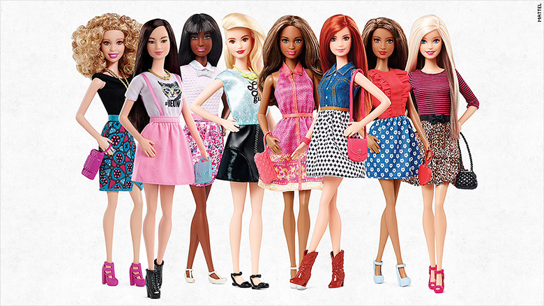 Barbie Is Now Flat Shoes