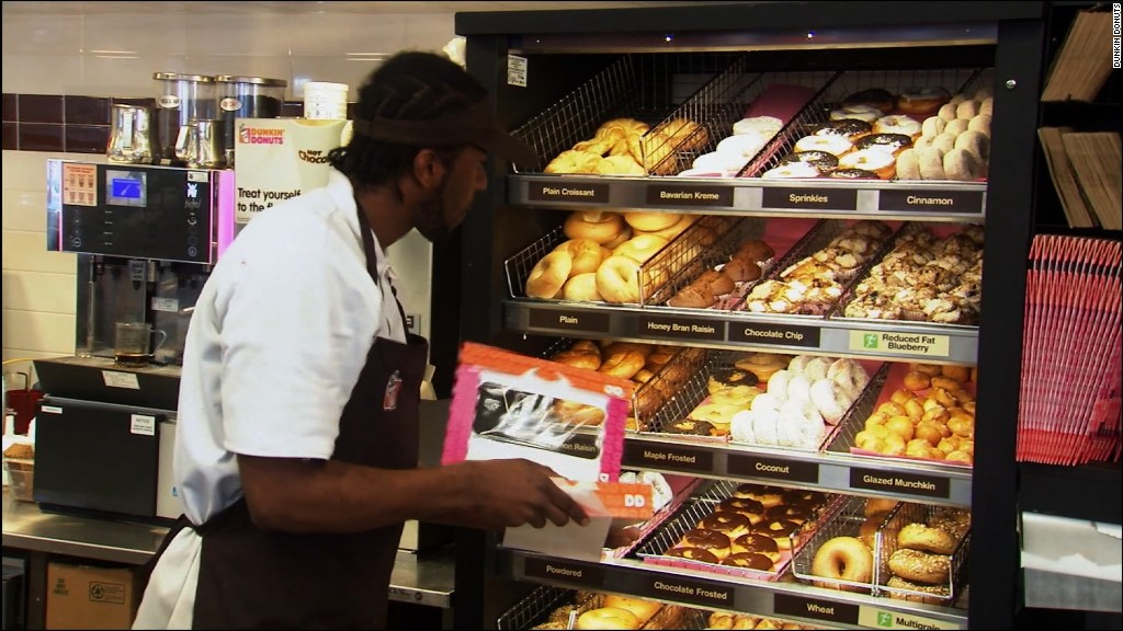 Dunkin' Donuts wants to take on the world