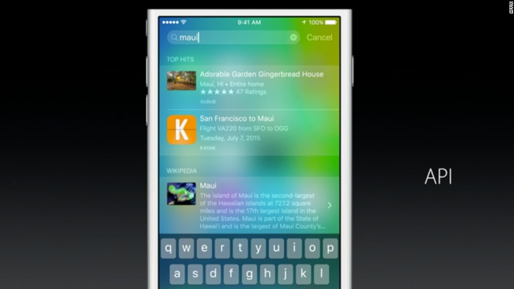 See Apple's iOS 9 in :90