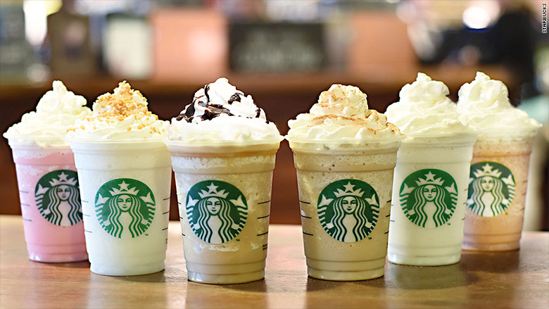 frappuccino fan favorites