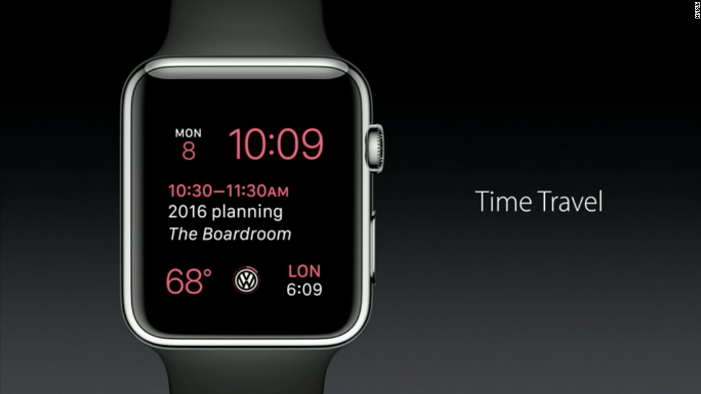 See the Apple Watch's new features in :90