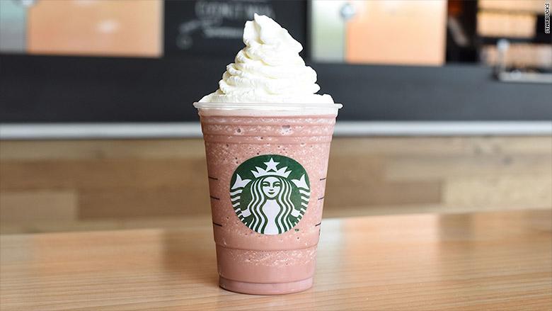 red velvet frappuccino