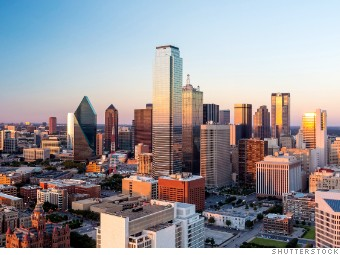 fastest growing texas