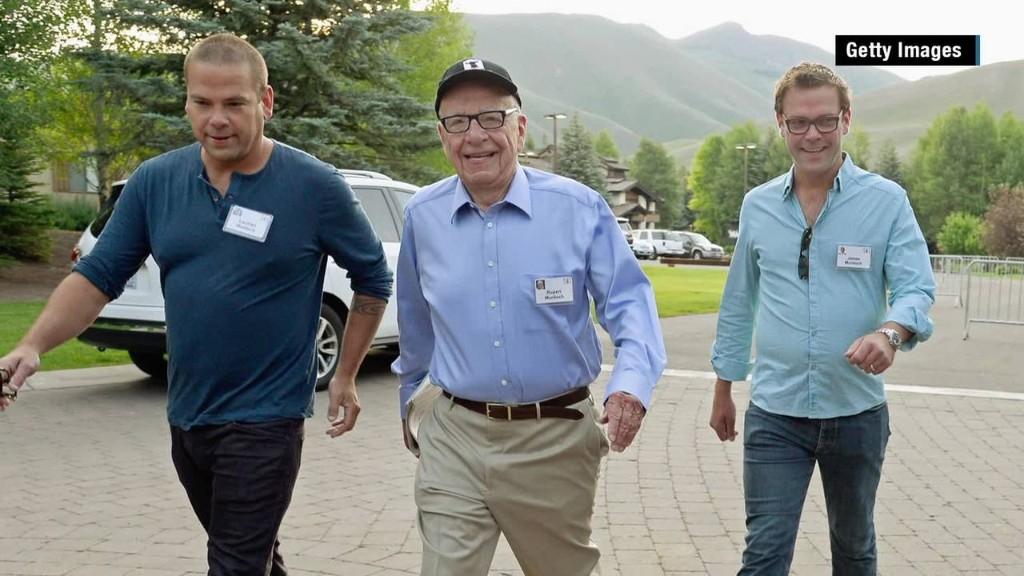 Murdoch succession plan