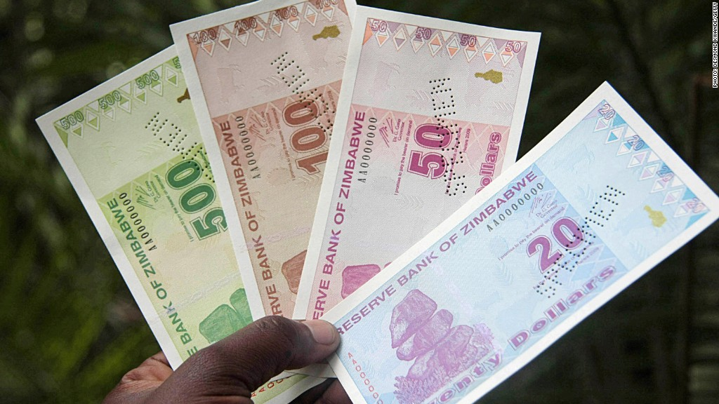 Zimbabwe ditches its currency