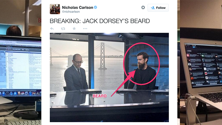 jack dorsey beard tweet