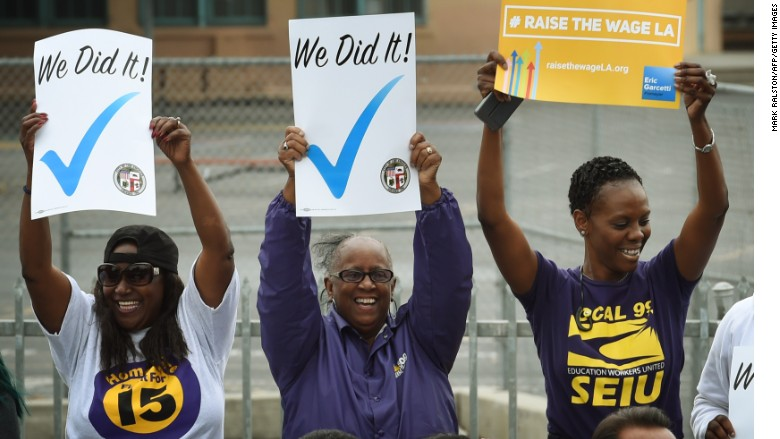 los angeles minimum wage garcetti