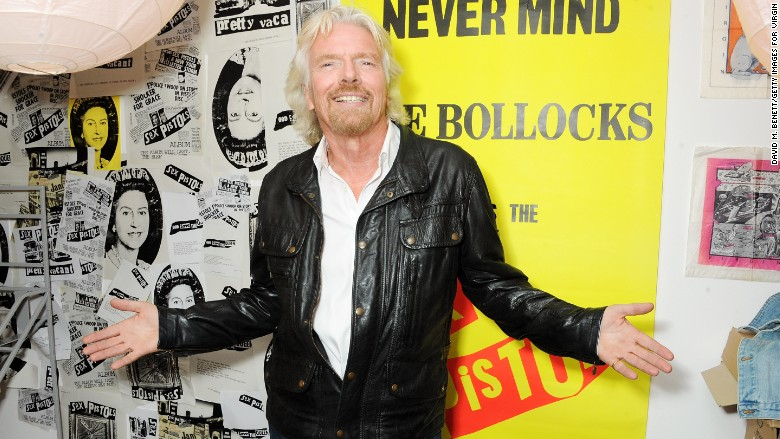 richard branson virgin records