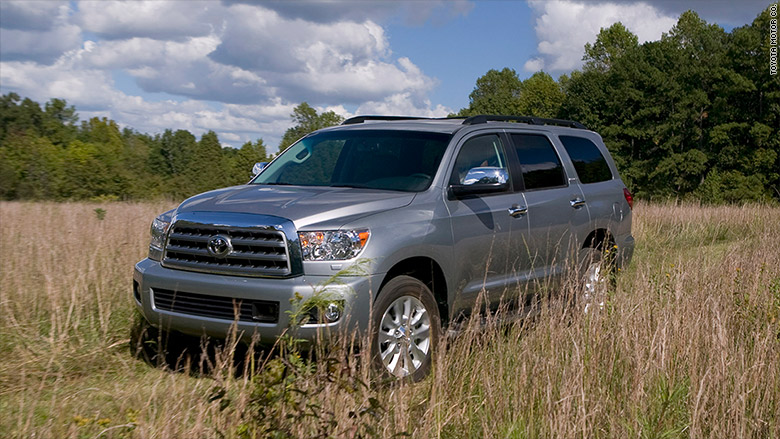 Toyota Large Suv >> Large Suv Toyota Sequoia Korean Cars Earn Top Quality Rank J D