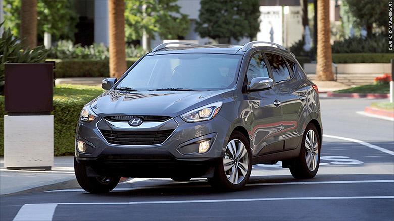 Small Suv Hyundai Tucson Korean Cars Earn Top Quality Rank J D