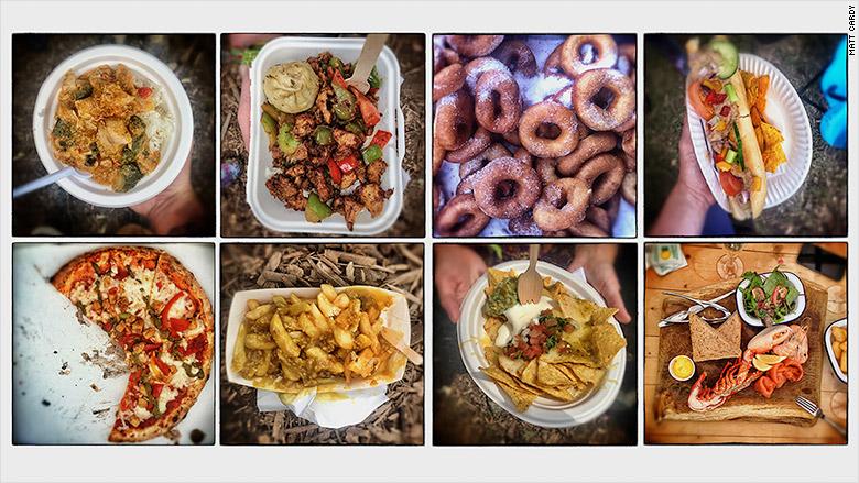 glastonbury food