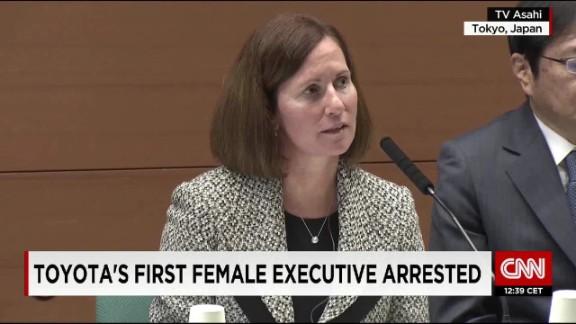 Toyota executive Julie Hamp arrested in Japan