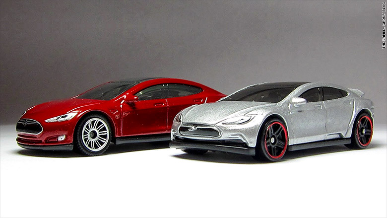 tesla model s hot wheels matchbox