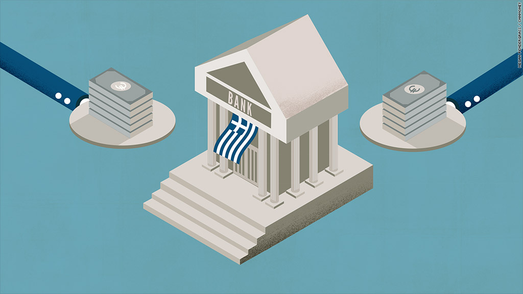 Greek financial system on verge of collapse
