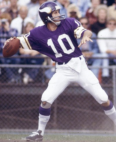 fran tarkenton football