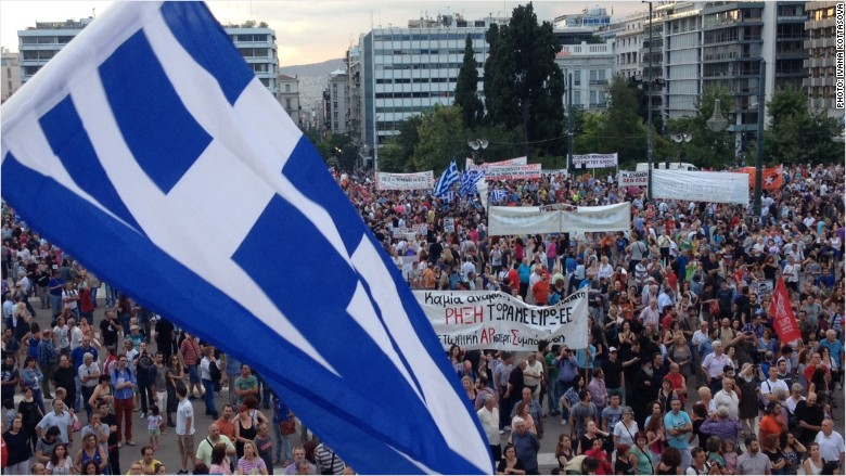 greece austerity protest