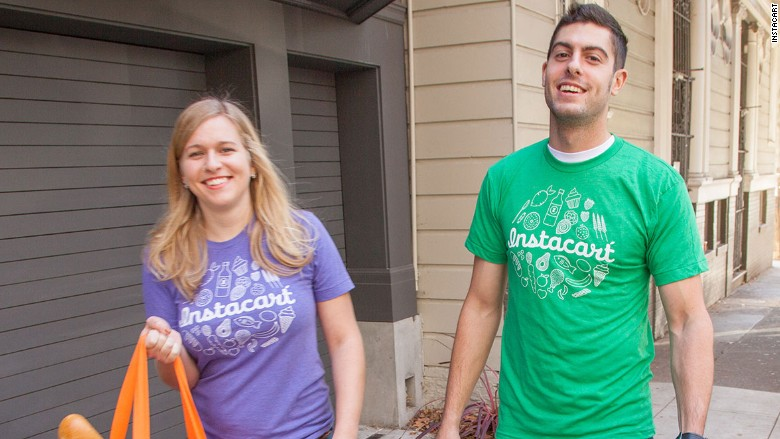 instacart personal shoppers