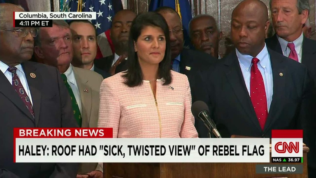Gov. Haley: Time to remove Confederate flag