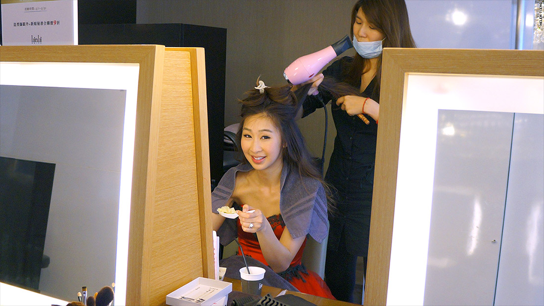taiwanese bride lunch time 2