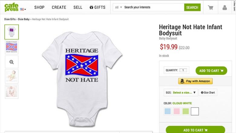 confederate onesie