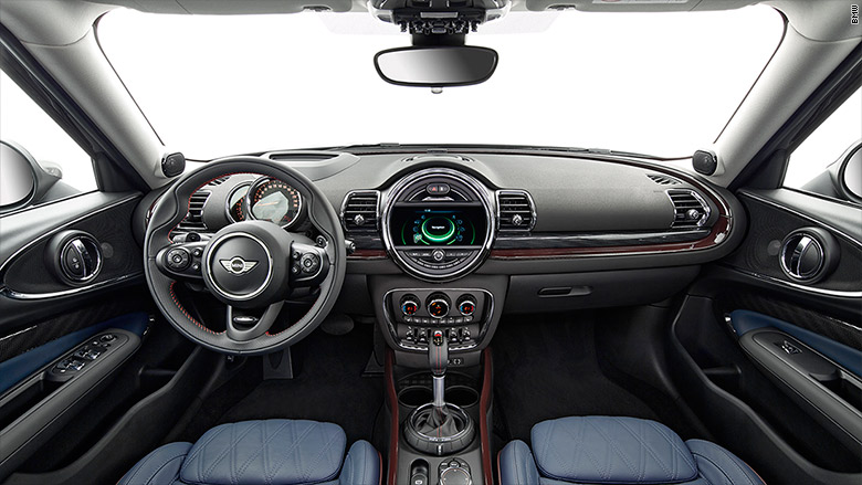 mini cooper clubman interior