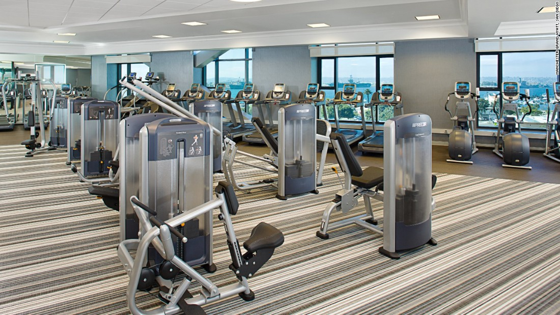 Manchester Grand Hyatt, San Diego - gym