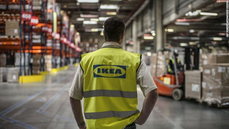 ikea worker