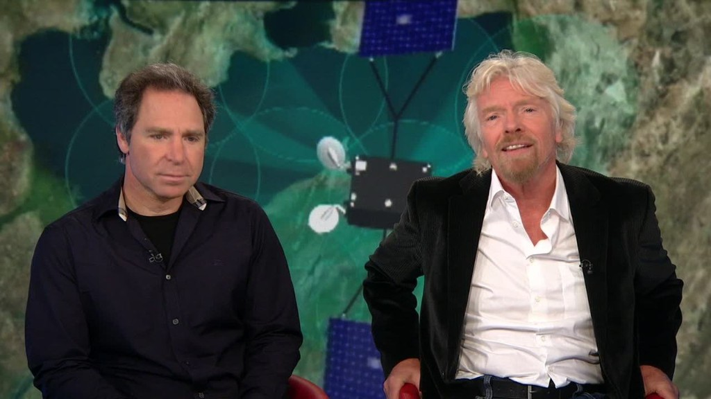 Richard Branson: OneWeb could close the wealth gap