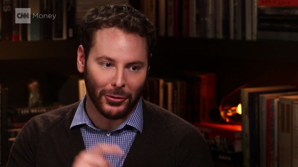 Sean Parker tries to save democracy
