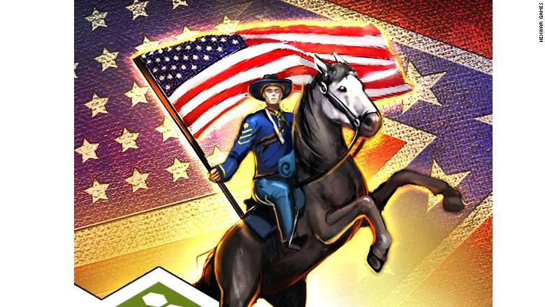 confederate flag 1862 game