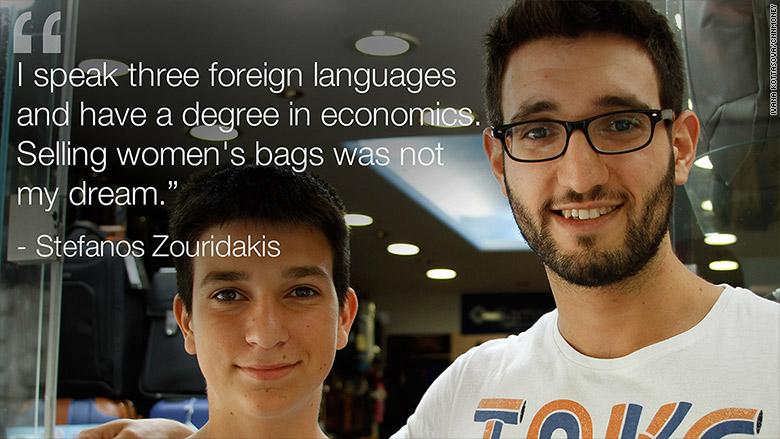stefanos zouridakis languages