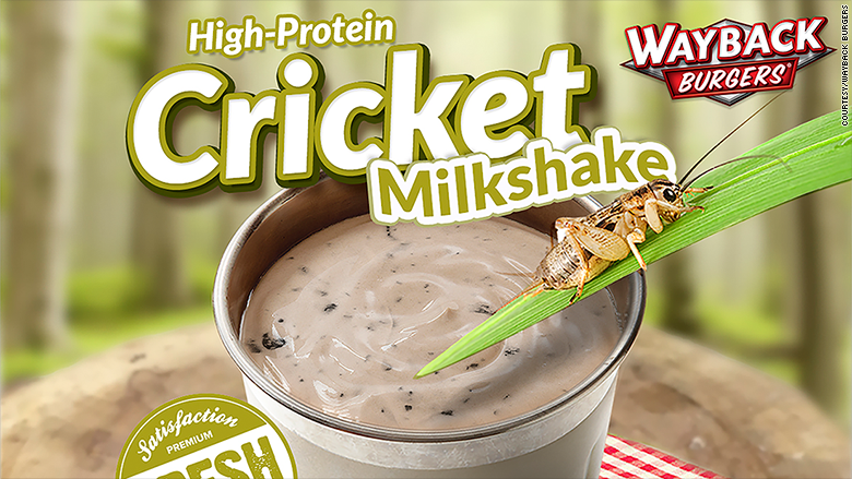 cricket milkshake