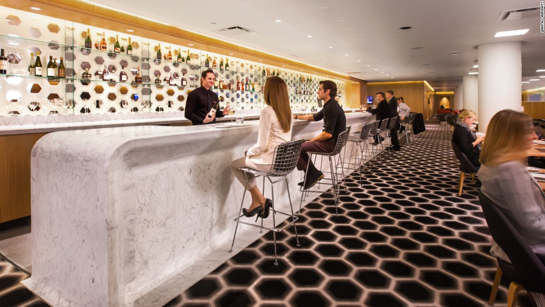 qantas lax bar