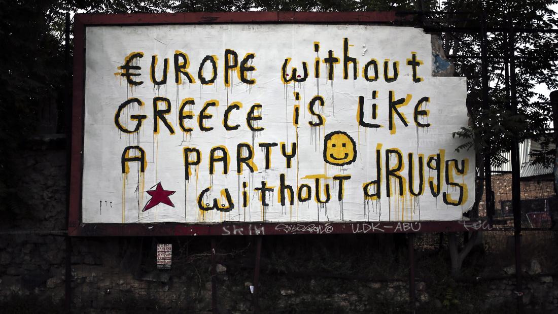 greece graffiti image 7 party