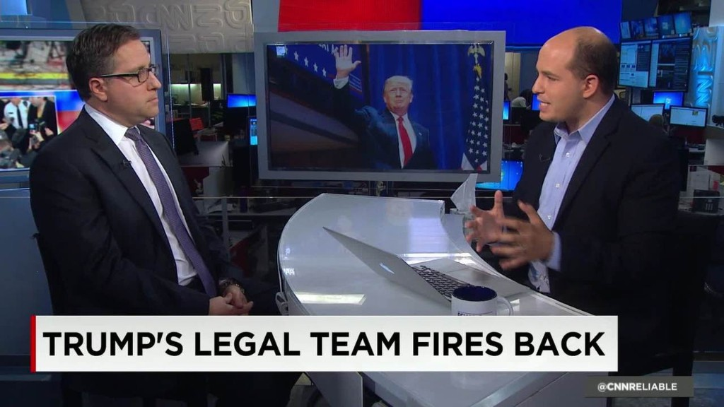 Donald Trump's legal team fires back