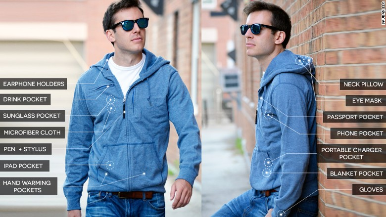 Baubax jacket sought $20,000 on Kickstarter, but got $9 million - Sep. 3, 2015