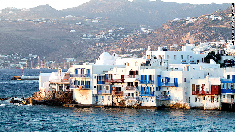 mykonos real estate homes